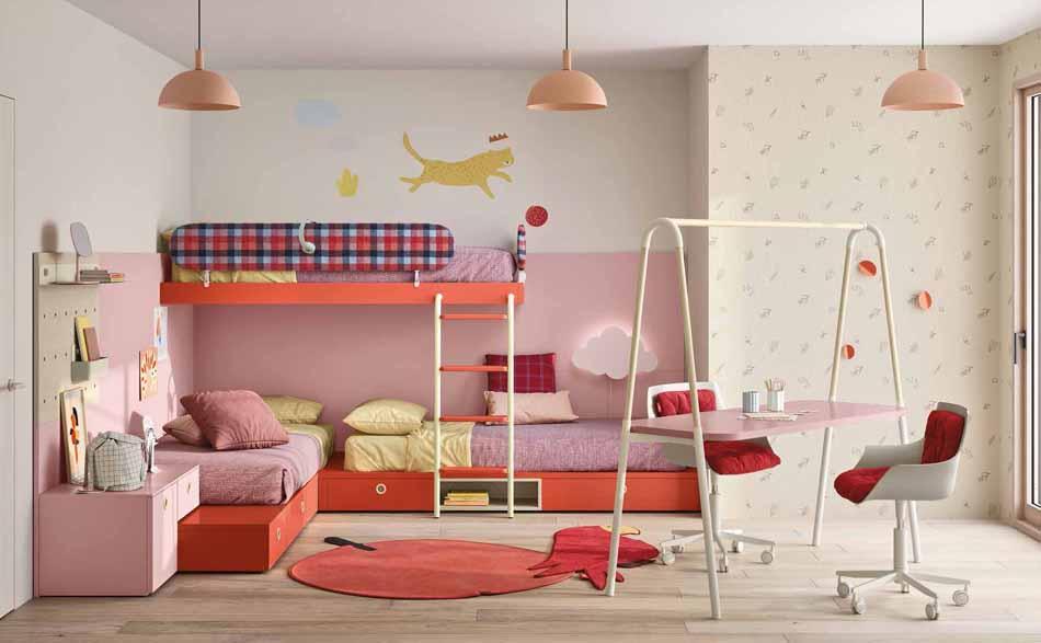 Battistella Camerette – 06 Kids Soppalco – Bergamo Arredamenti