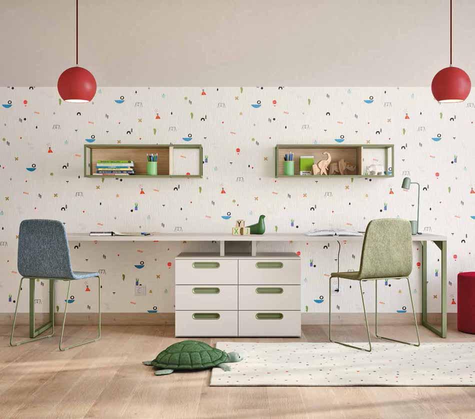 Battistella Camerette – 07 Kids Letti a Terra – Bergamo Arredamenti