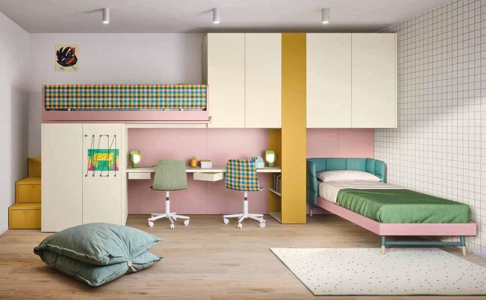Battistella Camerette – 11 Kids Soppalco – Bergamo Arredamenti