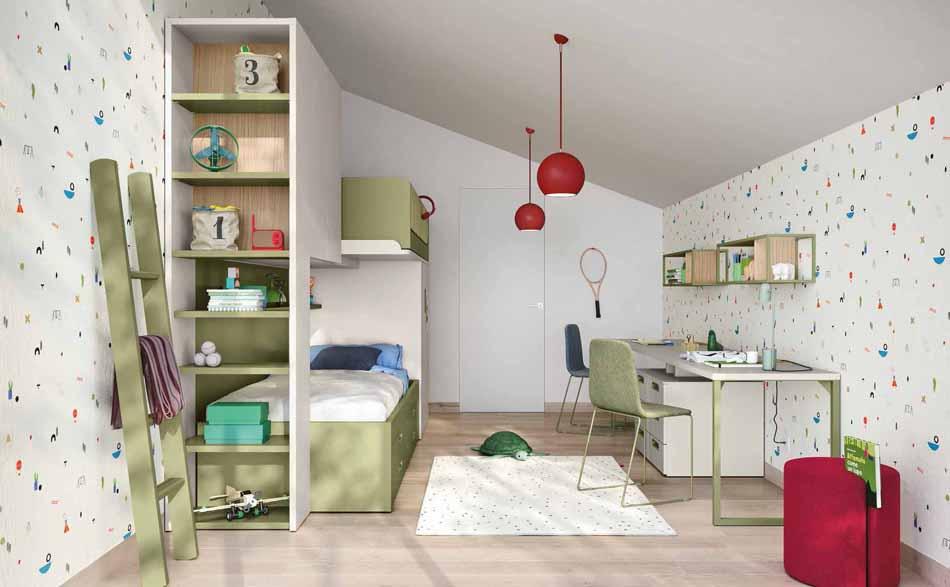 Battistella Camerette – 13 Kids Soppalco – Bergamo Arredamenti