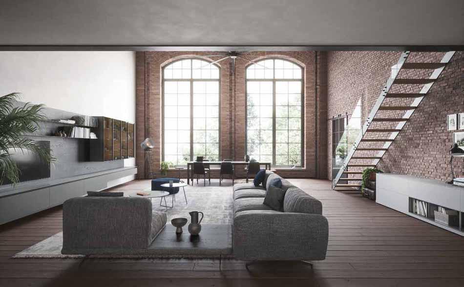 Novamobili 00 Living Collection – Bergamo Arredamenti