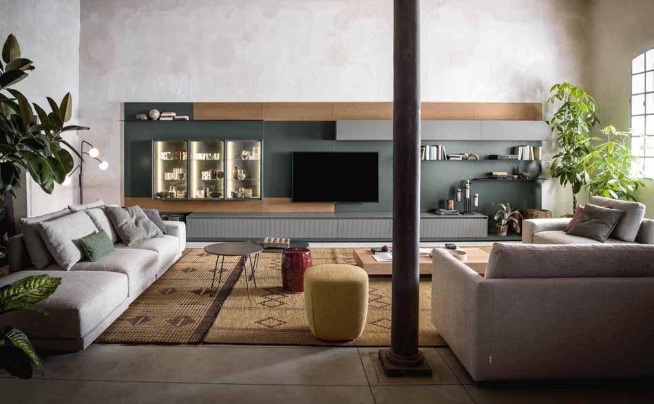 Novamobili 04 Living Collection – Bergamo Arredamenti