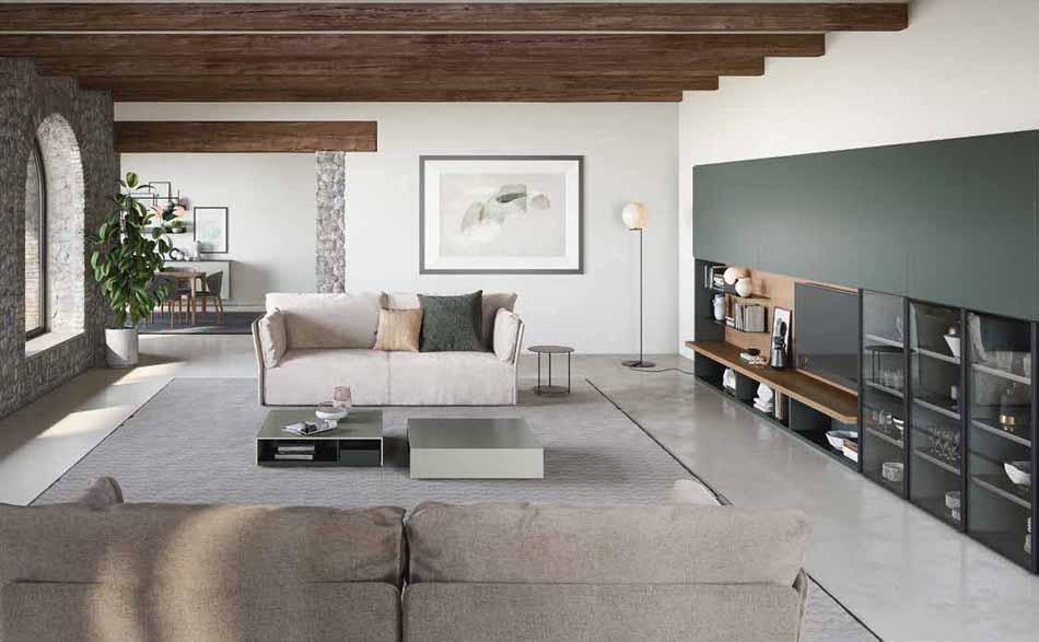 Novamobili 05 Living Collection – Bergamo Arredamenti
