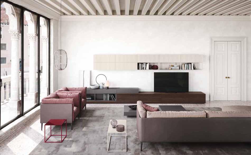 Novamobili 08 Living Collection – Bergamo Arredamenti