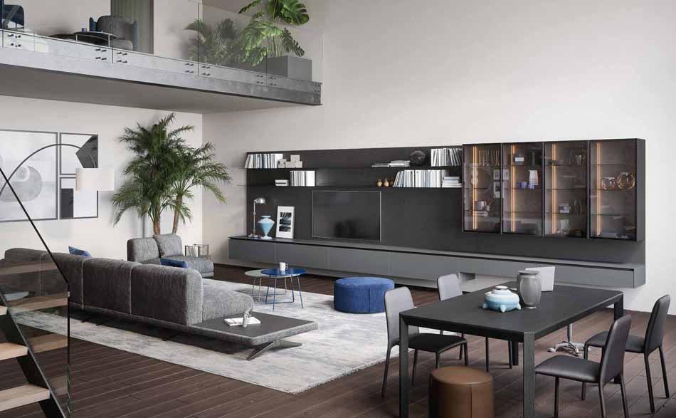 Novamobili 09 Living Collection – Bergamo Arredamenti