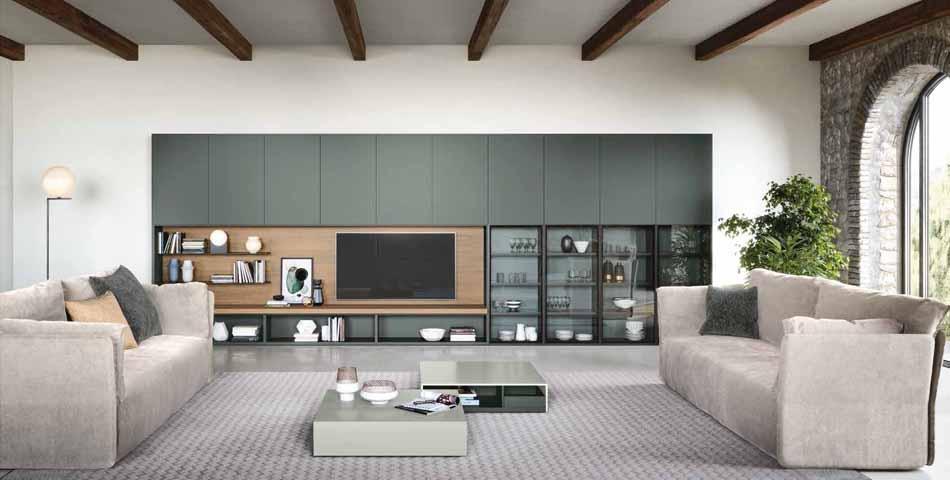 Novamobili 10 Living Collection – Bergamo Arredamenti