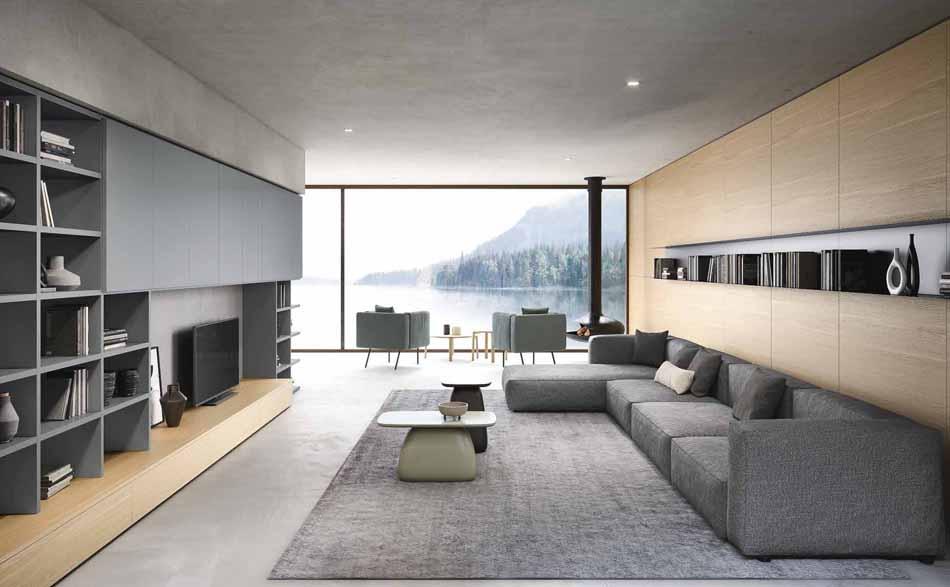 Novamobili 13 Living Collection – Bergamo Arredamenti
