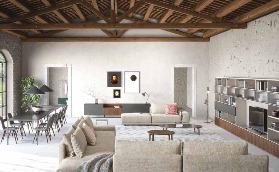 Novamobili 20 Living Collection – Bergamo Arredamenti