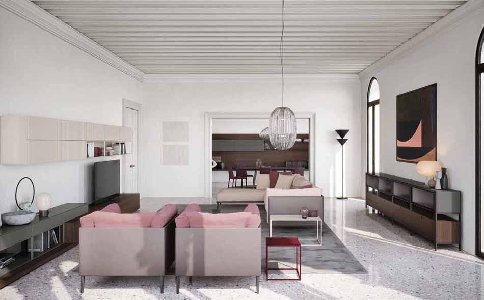 Novamobili 22 Living Collection – Bergamo Arredamenti