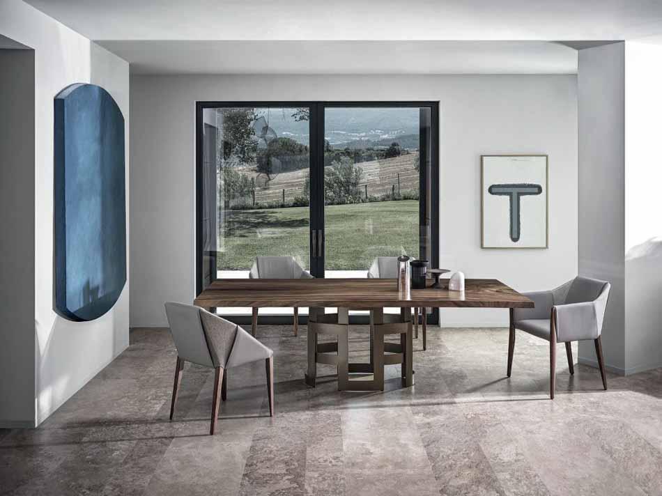 Tavoli Bontempi – 02 Imperial – Bergamo Arredamenti