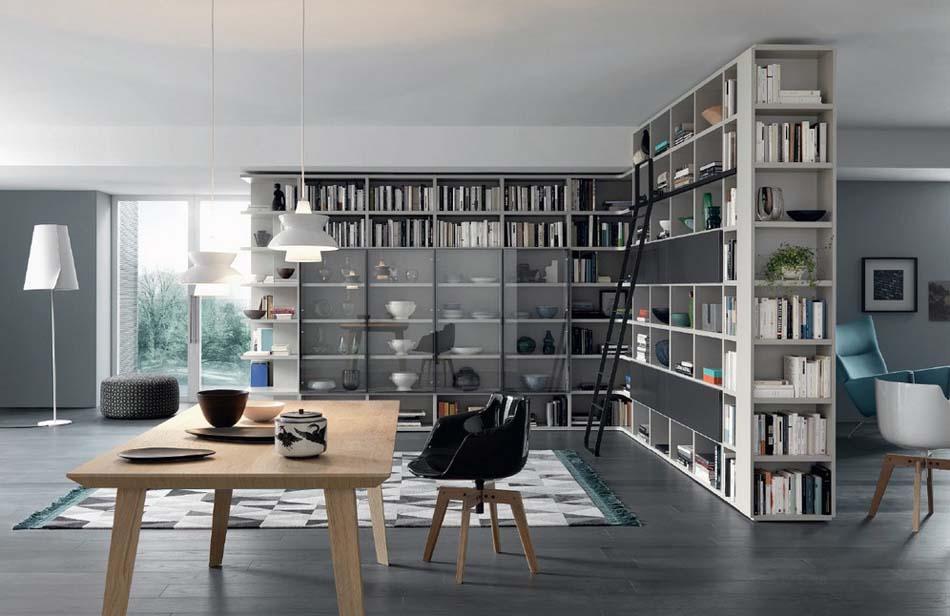 Sangiacomo 01 Libreria Moderna – Bergamo Arredamenti