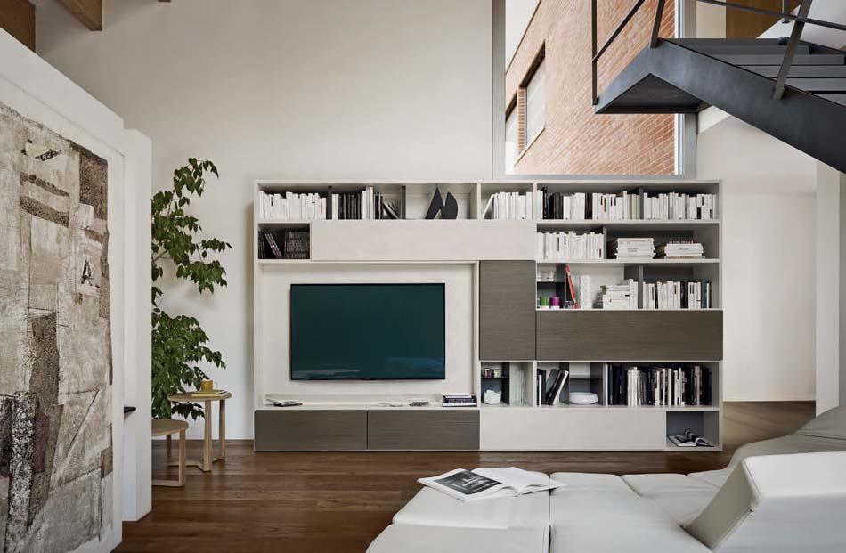 Sangiacomo 07 Libreria Moderna – Bergamo Arredamenti