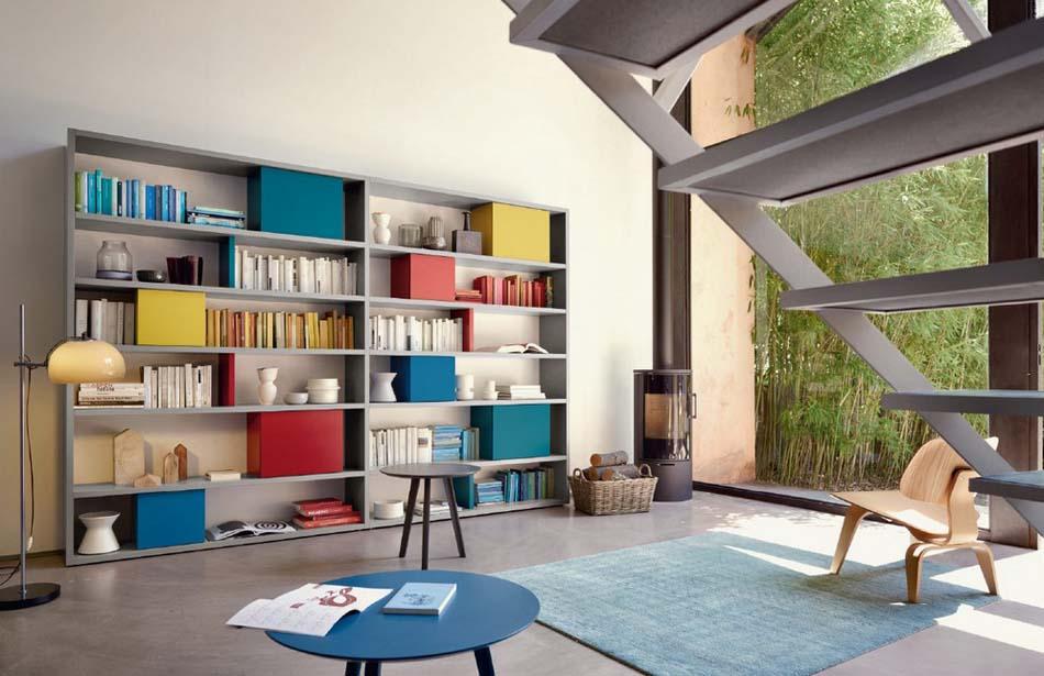 Sangiacomo 18 Libreria Moderna – Bergamo Arredamenti