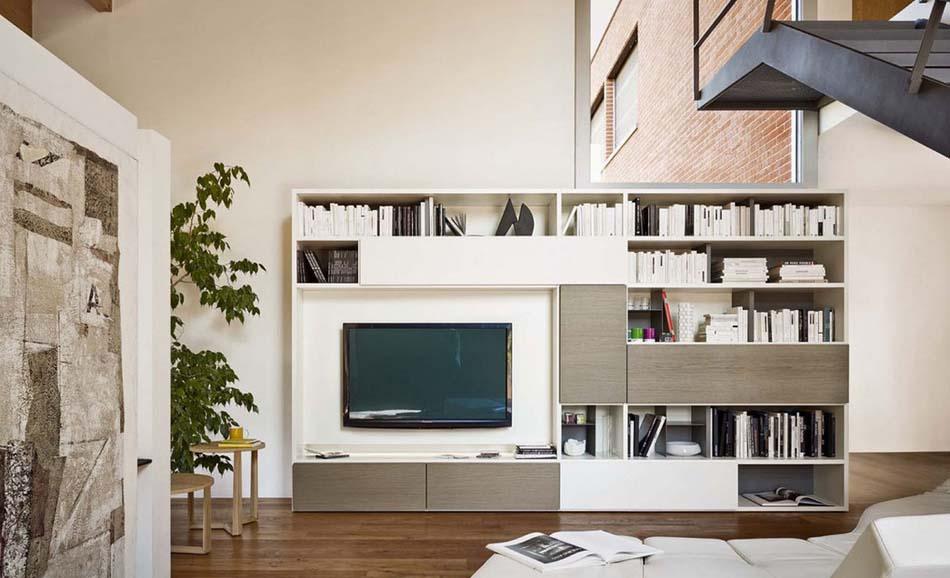 Sangiacomo 34 Libreria Moderna – Bergamo Arredamenti